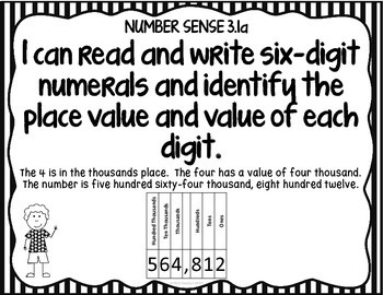 I CAN STATEMENTS VIRGINIA 2009 SOL MATH GRADE 3