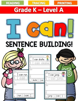 I CAN Sentence Building LEVEL A