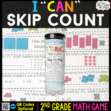 2nd Grade Math Game | Skip Counting, Odd & Even Numbers, & Arrays