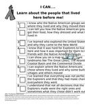 I CAN Social Studies Checklist-Units 2 through 8 for 4th G