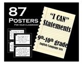 I CAN Statements: 9-10 ELA