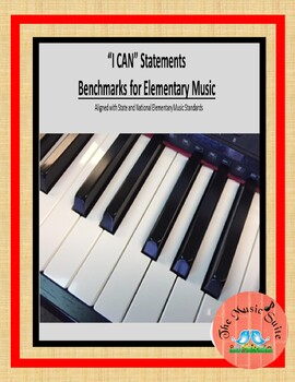 I CAN Statements for Elementary Music