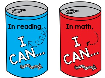 """""""I CAN"""" Statements for First Grade Standards"""