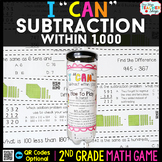 2nd Grade Math Game   Subtraction within 1,000   Subtraction with Regrouping