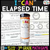 3rd Grade Math Game | Telling Time & Elapsed Time