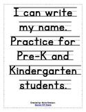 I CAN WRITE MY NAME