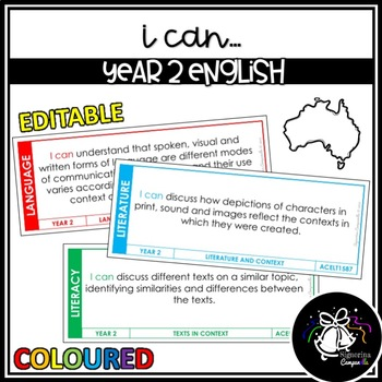 I CAN | YEAR 2 ENGLISH (COLOURED)