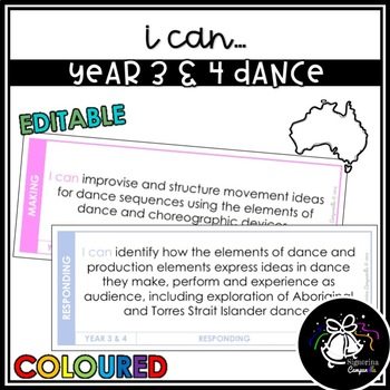 I CAN | YEAR 3 & 4 DANCE (COLOURED)