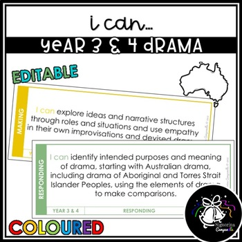 I CAN | YEAR 3 & 4 DRAMA (COLOURED)