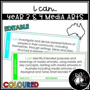 I CAN | YEAR 3 & 4 MEDIA ARTS (COLOURED)