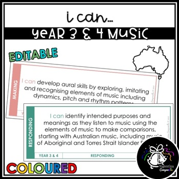 I CAN | YEAR 3 & 4 MUSIC (COLOURED)