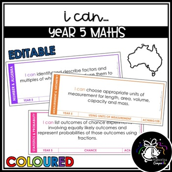 I CAN | YEAR 5 MATHS (COLOURED)
