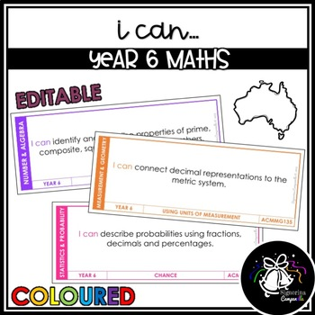 I CAN | YEAR 6 MATHS (COLOURED)