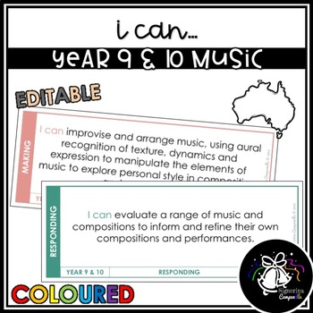 I CAN | YEAR 9 & 10 MUSIC (COLOURED)
