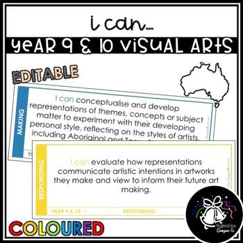 I CAN | YEAR 9 & 10 VISUAL ARTS (COLOURED)