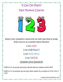 """I CAN"" do Math Fluency Charts"