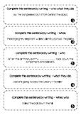 I CAN write COMPLEX SENTENCES - John Fleming