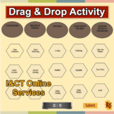 I&CT - Unit 1 Online World Drag & Drop Activity Level 2 Learning Outcome A