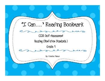 """I Can..."" 4th Grade Reading Nonfiction Bookmark"