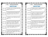 """I Can..."" 4th Grade Reading Nonfiction Bookmark"