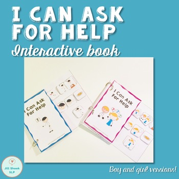 """I Can Ask for Help"" Interactive Social Story"