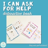 """""""I Can Ask for Help"""" Interactive Book"""