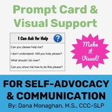 I Can Ask for Help-Visual Support Prompt Card