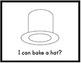 I Can Bake! Mini book