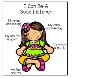 I Can Be A Good Listener