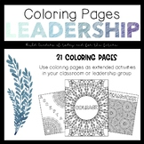 Leadership: Coloring Pages