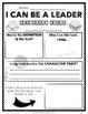 I Can Be A Leader- FREEBIE
