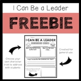 I Can Be A Leader- FREEBIE