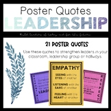 Leadership: Poster Quotes