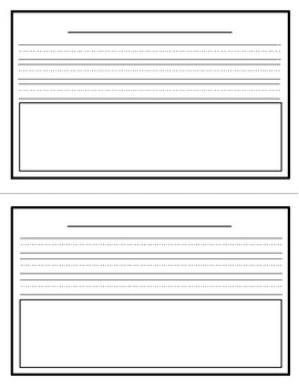 I Can Be An Author and Illustrator Book Template
