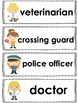 Community Helpers - Emergent Reader + Vocabulary Cards