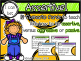 I Can Be Assertive: 12 Scenario Cards