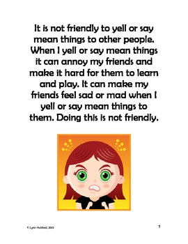 I Can Be Friendly to Others