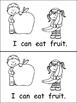 I Can Be Healthy- Emergent Reader- Kindergarten Healthy Habits- Wellness