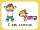 I Can Be Healthy- Shared Reading- Kindergarten Healthy Habits- Wellness