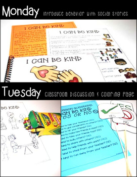 I Can Be Kind- Behavior Basics Program for Special Education