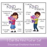 I Can Be Kind Poster Set   Encourage Kindness And Self Kindness