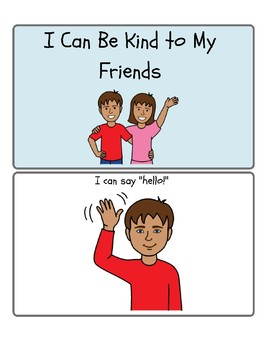 I Can Be Kind to My Friends- Social Narrative