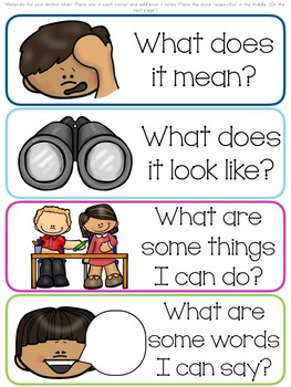 I Can Be Respectful-- building your classroom community