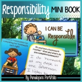 Character Education Responsibility Mini Book
