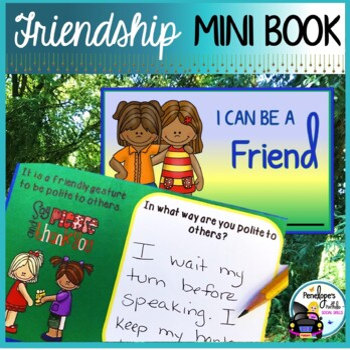 Friendship Mini Book