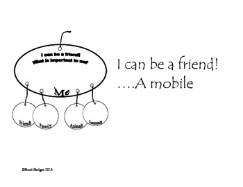 I Can Be a Friend...A Mobile