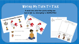 I Can Be Respectful.Waiting My Turn to Talk.Social Story bundle.[EDITABLE]
