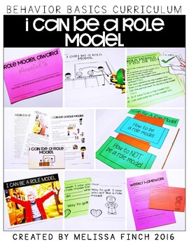 I Can Be a Role Model- Behavior Basics Program for Special Education