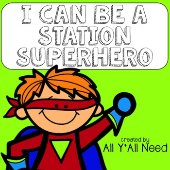 I Can Be a Station Superhero Posters