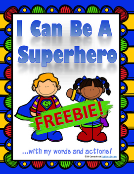 ADHD and Autism social situation task cards: I Can Be a Su